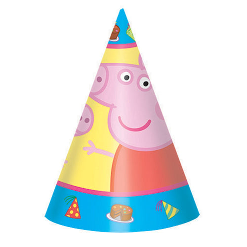 Peppa Pig Party Hats