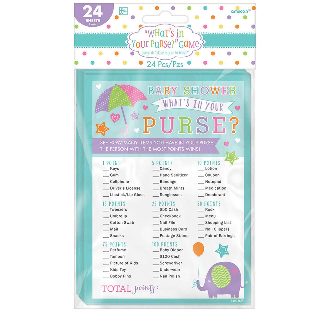 Baby Shower Party Game
