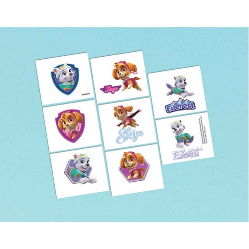 Paw Patrol- Girl Favor Tattoos
