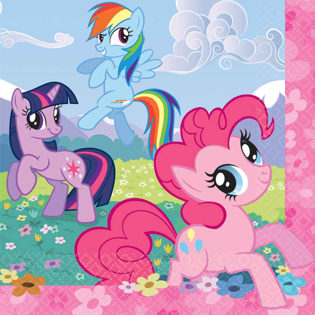 My Little Pony Party Napkins