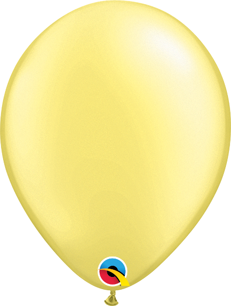Lemon Chiffon Latex Balloon