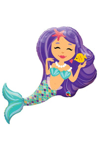Mermaid Foil Balloon - 97CM