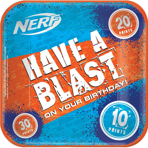 Have a Blast Nerf Party Plates