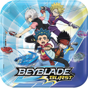 Beyblade Party Plates