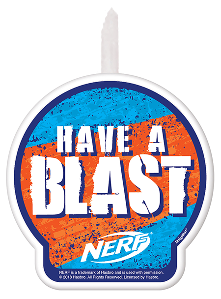 Nerf Party Candle