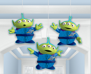 Toy Story 4 Party Honeycomb Decorations