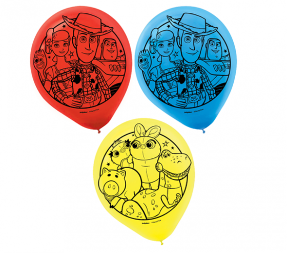 Toy Story 4 Latex Balloons