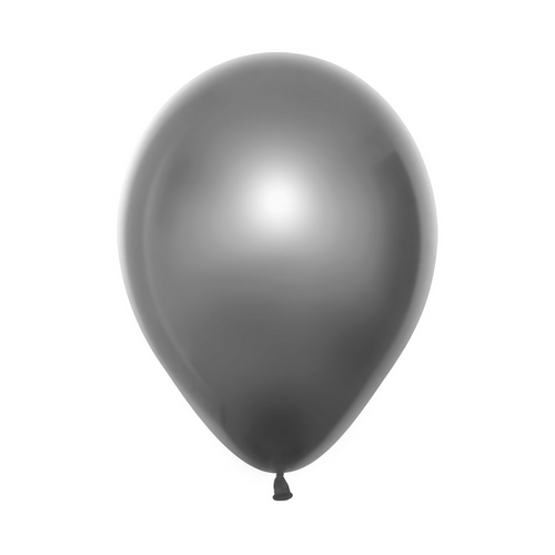 Silver Latex Balloon (Mirrored Finish)
