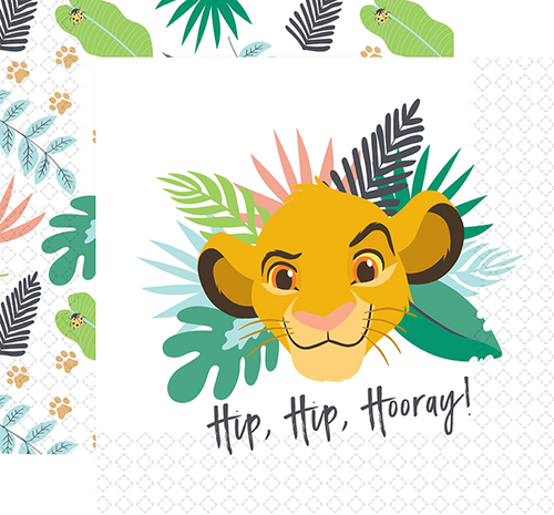 Lion King Lunch Napkins