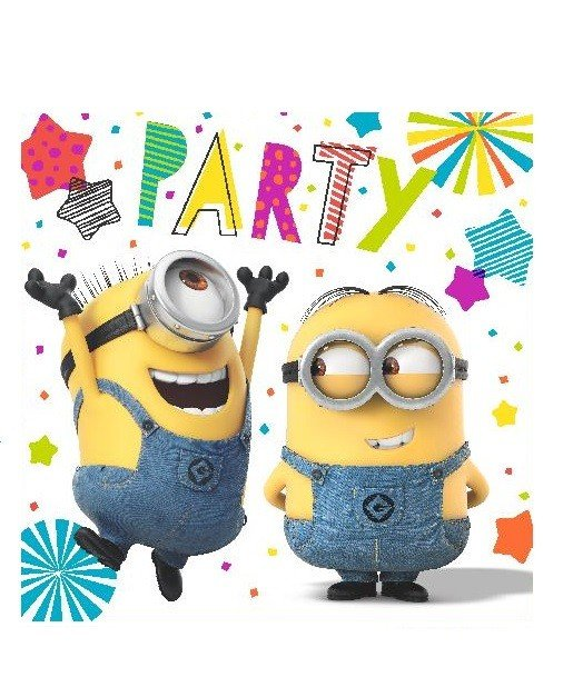 Minion Party Napkins