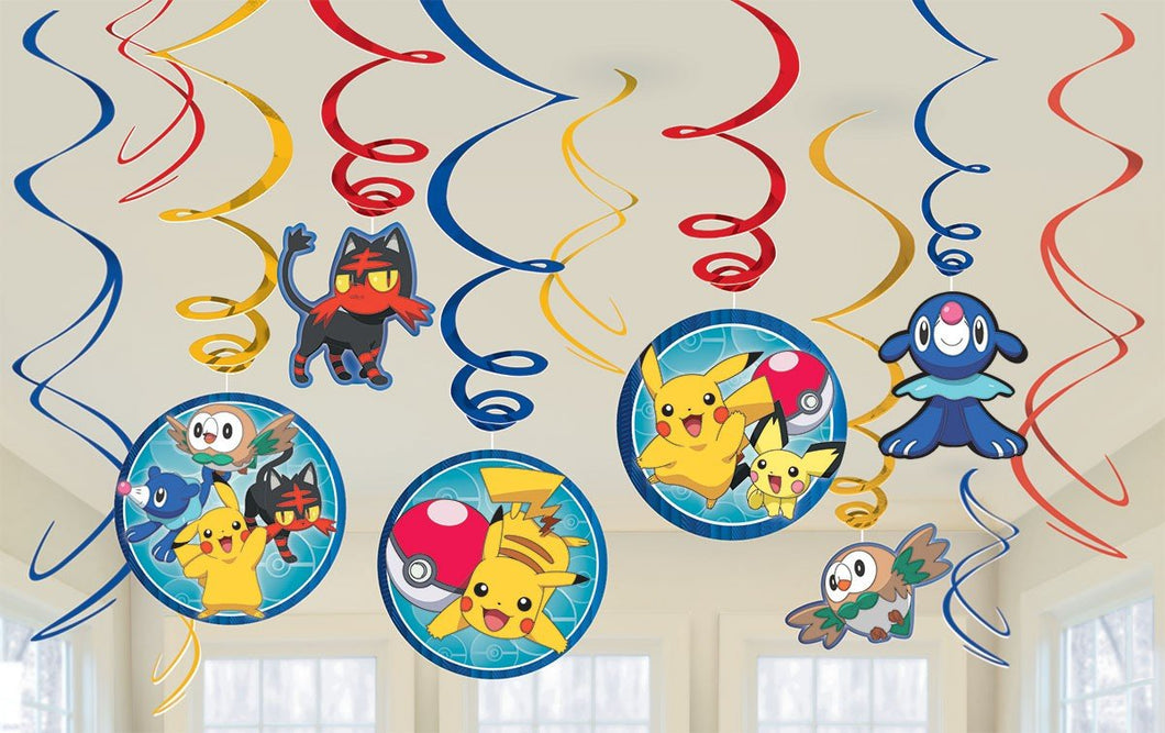 Pokemon Core Swirl Decorations