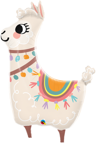 Loveable LLama Foil Balloon - 114CM