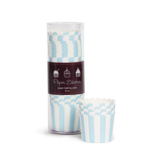 Baking Cups Powder Blue