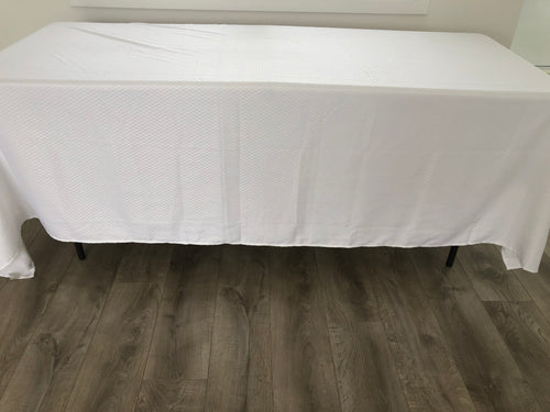 White Tablecloth - Hire