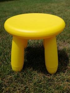 Yellow Stool - Hire
