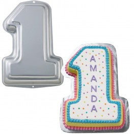 Number 1 Cake Tin - Hire