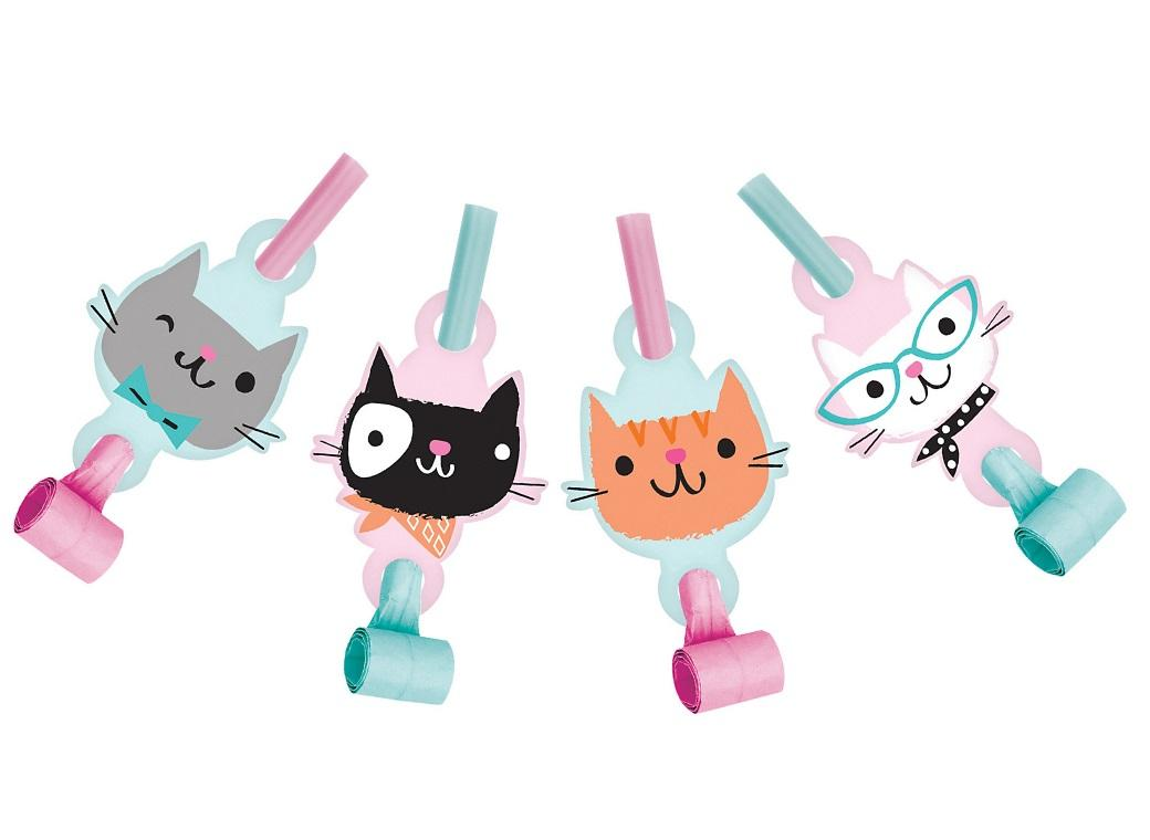 Purrfect Cat Party Blowouts
