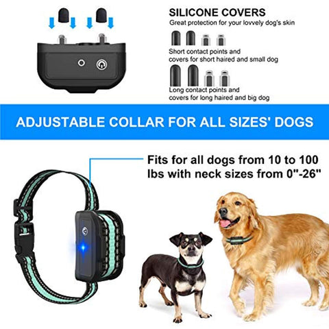 Image of BESTHING Dog Training Collar, 1000ft Remote Dog Shock Collar, 100% Waterproof Rechargeable Beep/Vibra/Electric Shock …