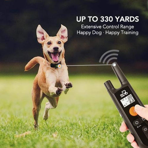 Image of Dog Training Collar - Rechargeable Dog Shock Collar w/3 Training Modes, Beep, Vibration and Shock, 100% Waterproof Training Collar, Up to 1000Ft Remote Range, 0~99 Shock Levels Dog Training Set