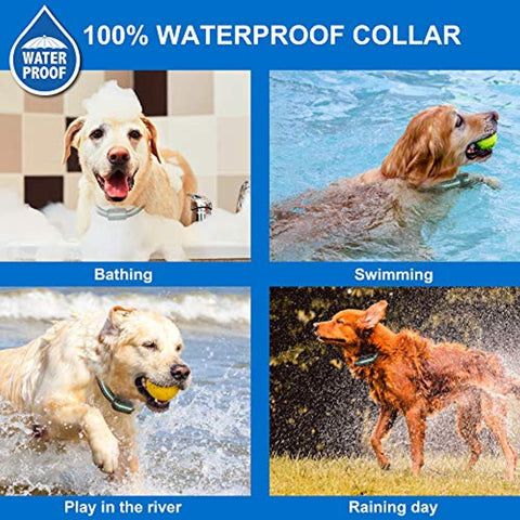 BESTHING Dog Training Collar, 1000ft Remote Dog Shock Collar, 100% Waterproof Rechargeable Beep/Vibra/Electric Shock …