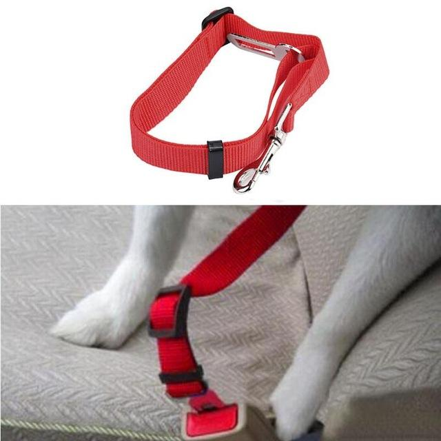 New Qualified Pet Cat Dog Safety Vehicle Car cachorro Seat Belt mascotas dog Seatbelt Harness Lead Clip Levert Dropship dig6314