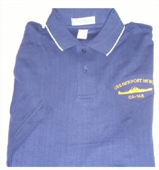 #30- USS Newport News CA-148 Extreme E-Dry Golf Shirt