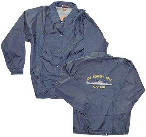 "#31- USS Newport News CA-148 New Style - Windbreaker ""Coach's Jacket"""