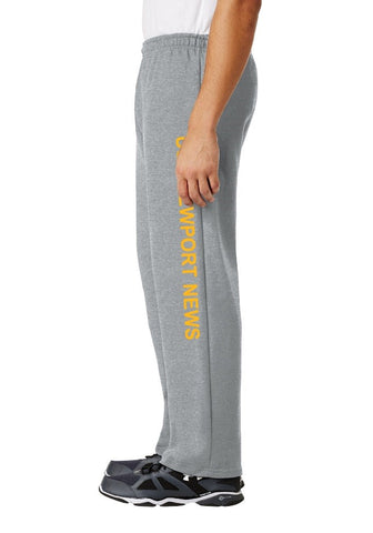 #37G- USS Newport News Sweatpants - Gray