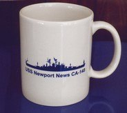 #70- USS Newport News CA-148 Ship Coffee Mug