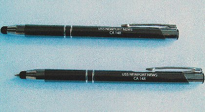 #76- USS Newport News CA-148 Multi-Purpose Stylus Pen