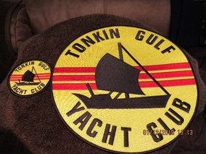 #14- Tonkin Gulf Embroidered Patch or Decal for our Vietnam Crews