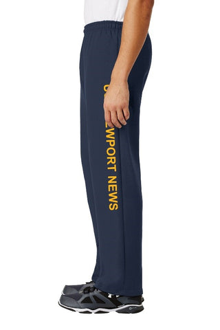 #37N- USS Newport News Sweatpants - Navy