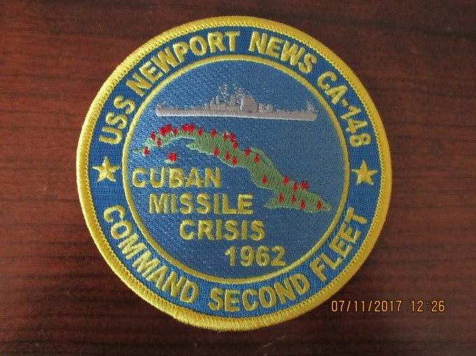 "#15- Cuban Missile Crisis Patch or Decal  4"" Dia."