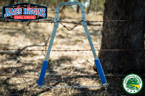 Fence Repair Tool - Barb and Plain Wire Puller Strainer Stretcher. (On Backorder)