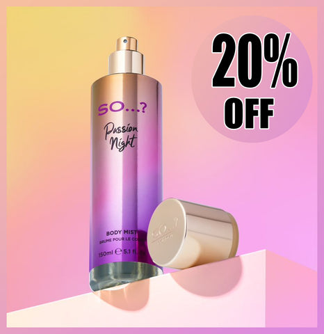 so you passion body mist black friday sale