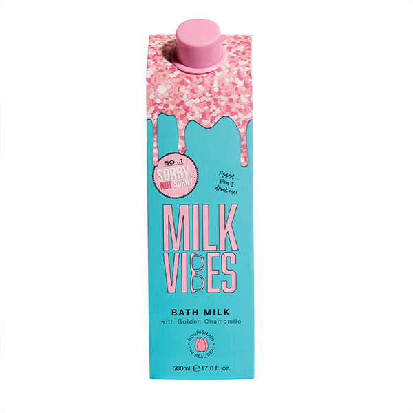So…? Sorry Not Sorry Milk Vibes Bath Milk 500ml