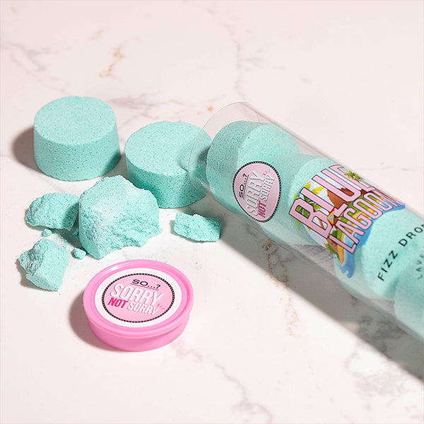So…? Sorry Not Sorry Blue Lagoon Fizz Drops 80g
