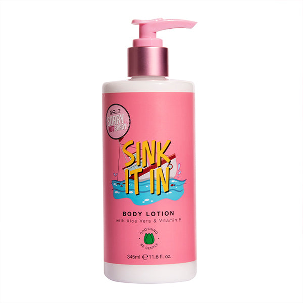 So…? Sorry Not Sorry Sink It In Body Lotion 345ml