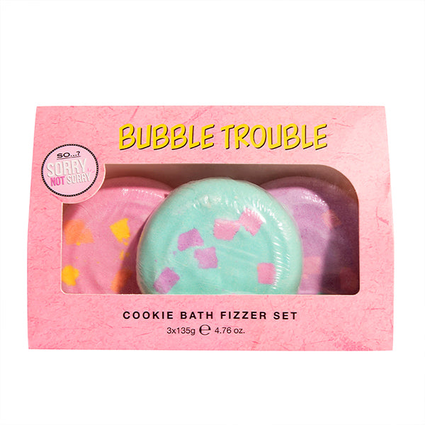 So…? Sorry Not Sorry The Cookie Bath Fizzer Set 3 x 135g