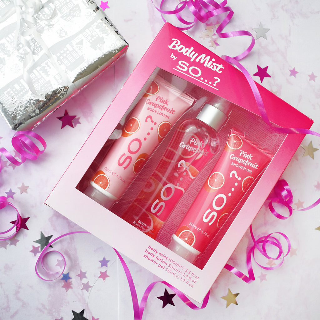So…? Pink Grapefruit Indulgence Set