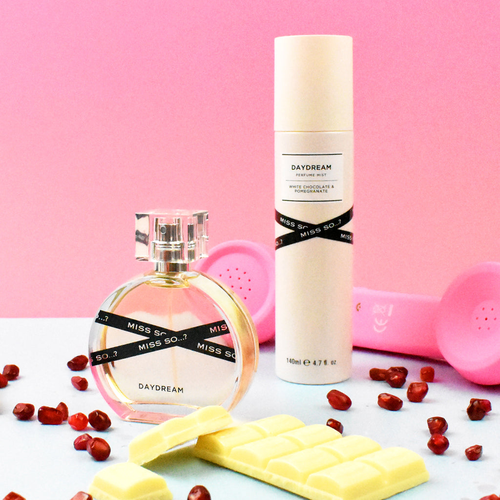 Miss So…? Daydream Perfume Mist - White Chocolate & Pomegranate