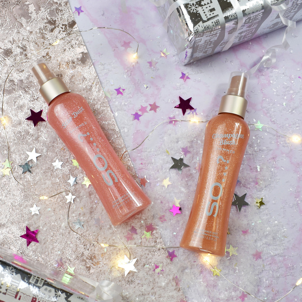 So…? Champagne Blush Shimmer Mist 100ml