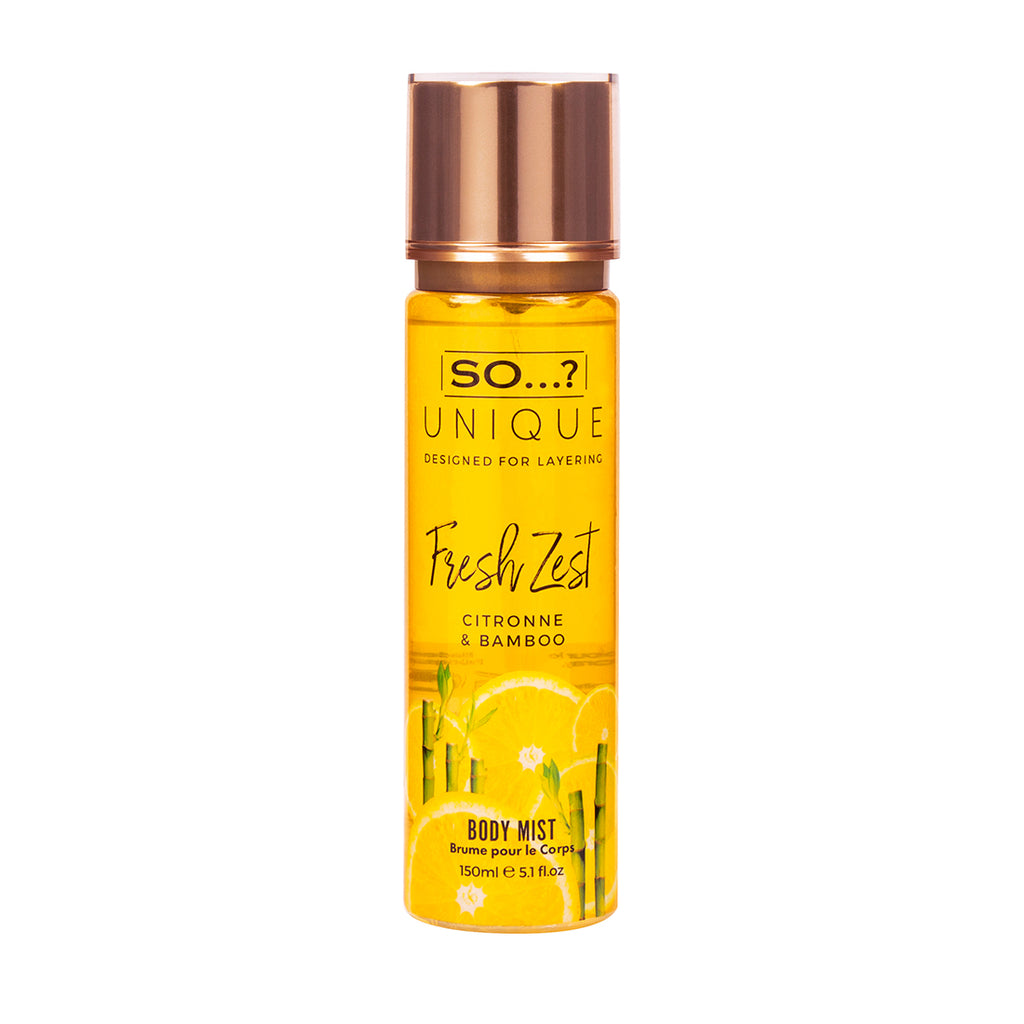So…? Unique Fresh Zest Body Mist 150ml