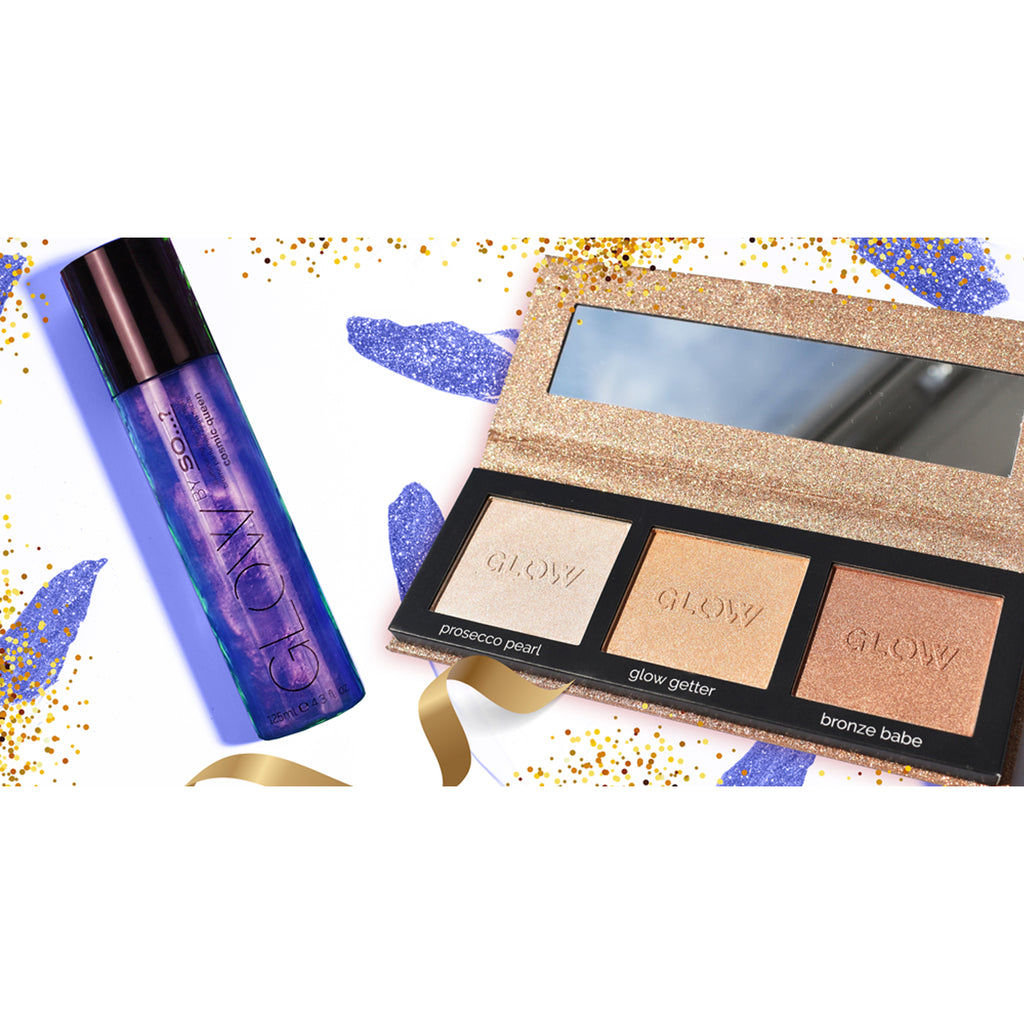 Cosmic Queen Illuminating Perfume Mist + Highlighting Palette