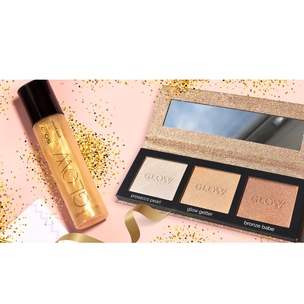Glow Getter Illuminating Perfume Mist + Highlighting Palette
