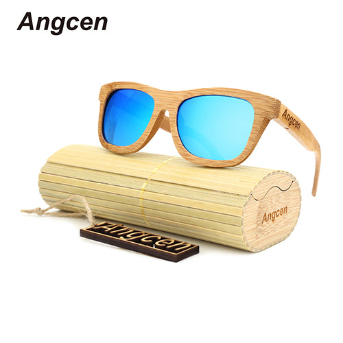 Retro Bamboo Sunglasses