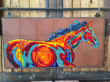 Load image into Gallery viewer, Fire Horse #6 Fine Art Mural