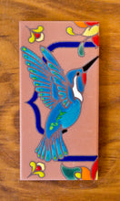 Load image into Gallery viewer, Hummingbirds: Terra Cotta & Royal Blue