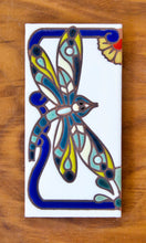 Load image into Gallery viewer, Dragonfly: White & Royal Blue
