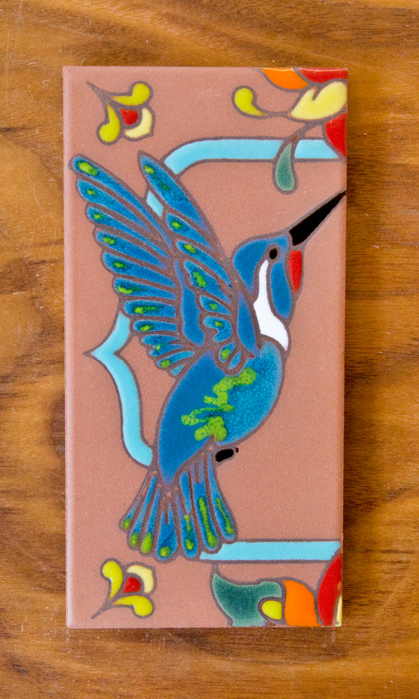 Hummingbirds: Terra Cotta & Turquoise
